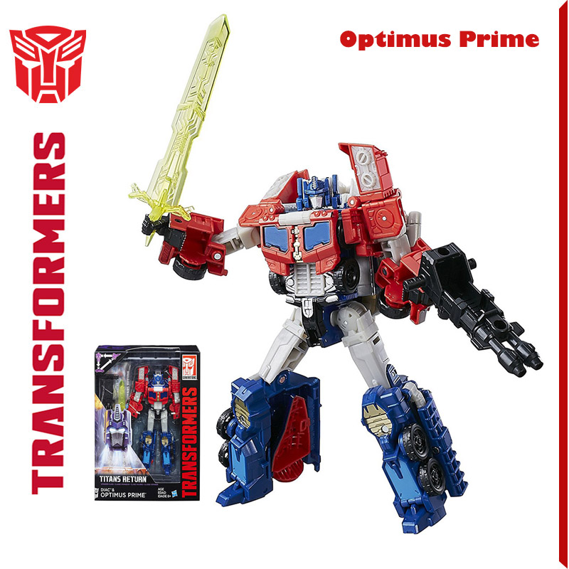 Transformers Hasbro authorizes genuine Titan return sailing home hasbro transformers c0890 маска желтая