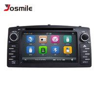 Josmile 2 Din Car DVD Player For Toyota Corolla E120 BYD F3 2000 2005 2006 Radio Multimedia Head Unit Stereo GPSNavigation Audio