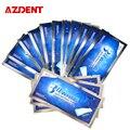 AZDENT 14 Мешков/28 Полосы 3D Whitestrips Отбеливание Зубов Полоски Отбеливание Зубов Whitener Профессии Передовые Полосы