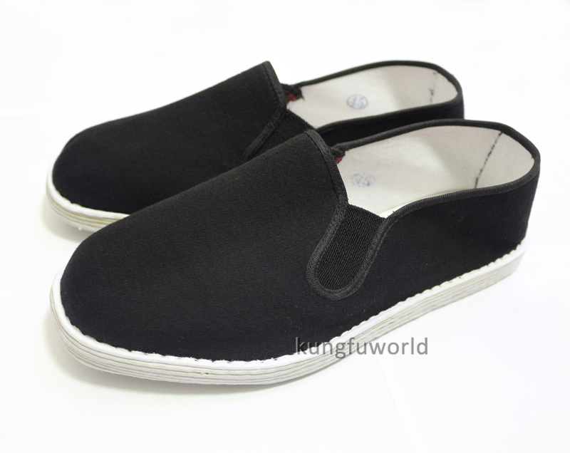 Traditional Handmade Cotton Cloth Kung Fu Tai Chi Shoes Wushu Martial Arts Wing Chun Training Sports Sneakers