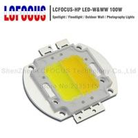 50W 100W Warm Pure White LED COB SMD Diode Chip DIY 50 100 W Watt Spotlight Floodlight Photography Lamp Bulb Lighting
