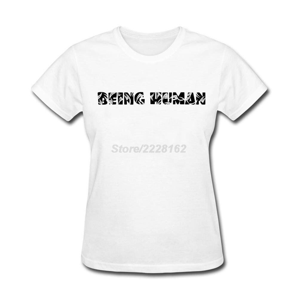 Shirt design white - Own Design Being Human Tribal T Shirt For Women Party Short Sleeve Sexy Women