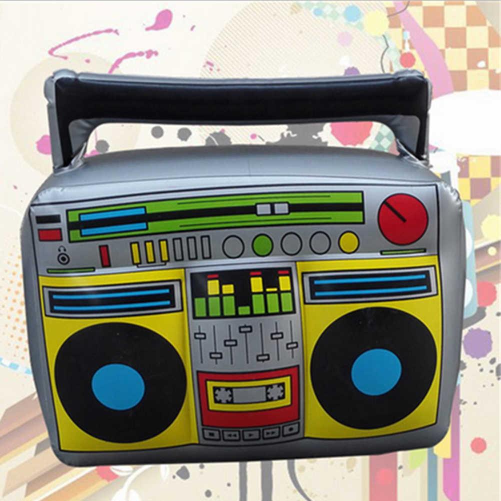 Новинка Надувной Радио крупного плана Детские игрушки: бинокль и лупа приборы для декорации Дети подарок (серый)