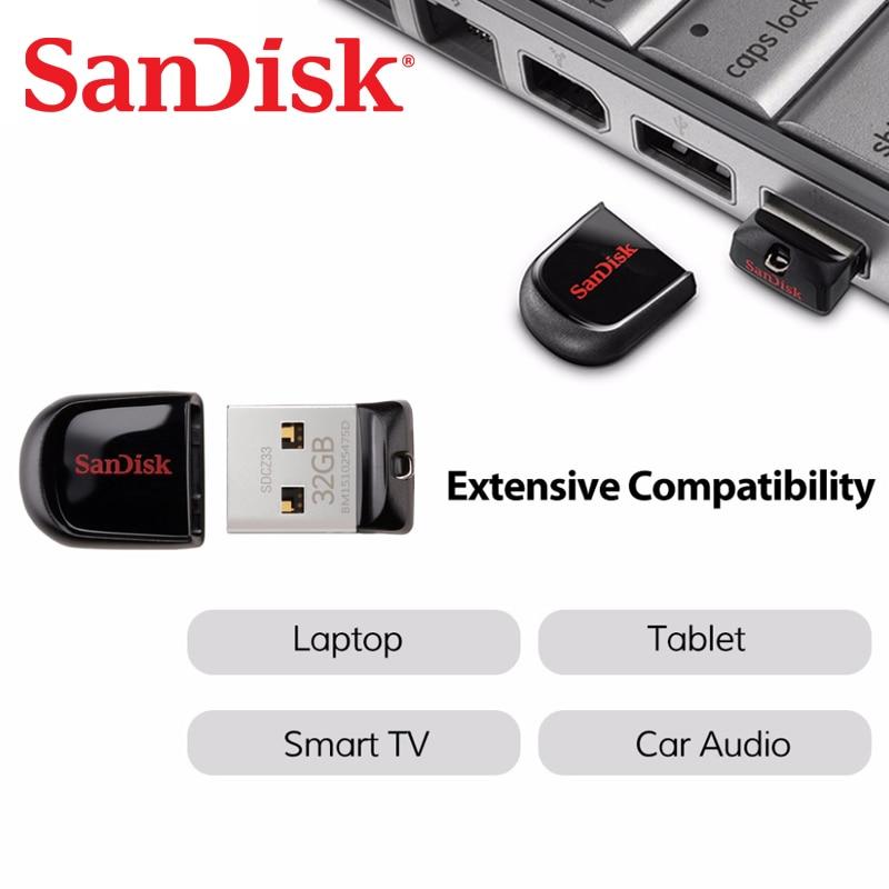 Clé USB SanDisk Cruzer Fit 32 Go CZ33 16 Go, 8 Go, mini-clés USB, - Stockage externe - Photo 3