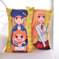 Japanese Anime Himouto Umaru Chan Hugging Body Back Pillow Otaku Cushion For Home Decoration 35x55/45x70cm 2WAY Plush Fabric