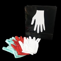 New Changing Color Gloves (Pocket Version) Magic Tricks Illusions Gimmick magic props