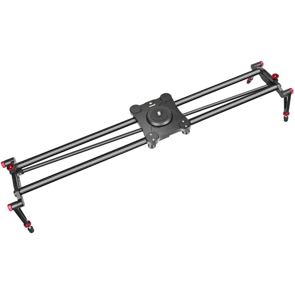 bilder für Neewer carbon kamera track slider video stabilizer 39,4 zoll/100 cm + tragetasche für canon/nikon/sony/dslr/camcorder