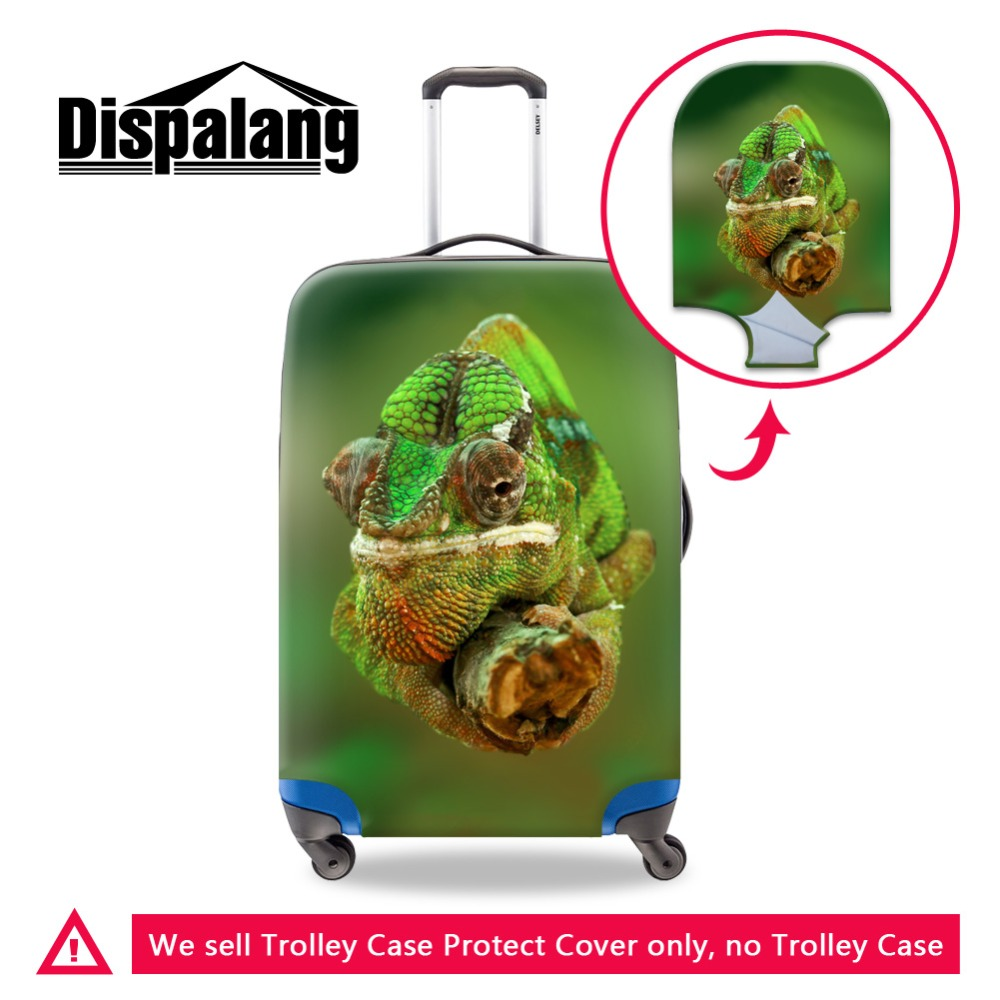 Hot Sale High Quality Cover For Trolley Luggage Cart Design Animal Image On Fabric For Suitcase New Fashion Printing For Travel