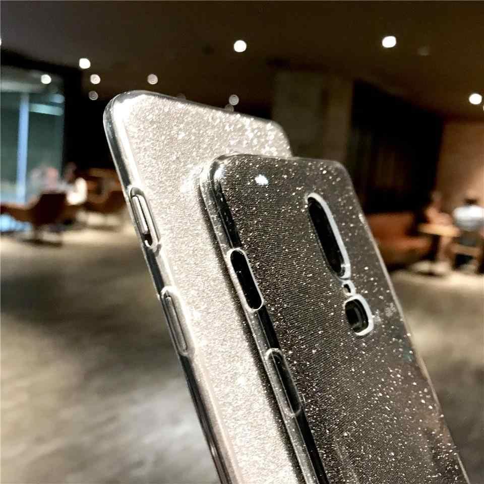 Scintillio Del Telefono Custodie Per OnePlus 6T 7 5T 7T Meizu M5 M6 M8 M9 Nota X8 M9C m6T M6S M5S Pro 6 U10 U20 Della Copertura Del Silicone TPU Custodia Morbida