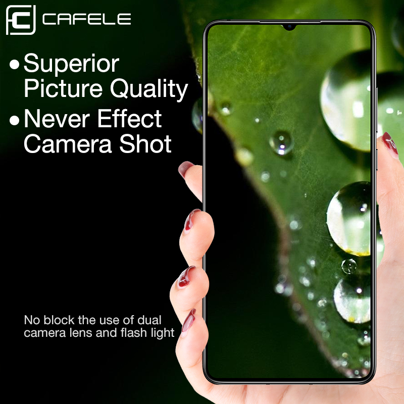 Image 2 - CAFELE Camera Lens Protector For Huawei P30 pro 2 PCS Tempered Glass for huawei p30 pro Back Camera Protective Full Slim Cover-in Phone Screen Protectors from Cellphones & Telecommunications