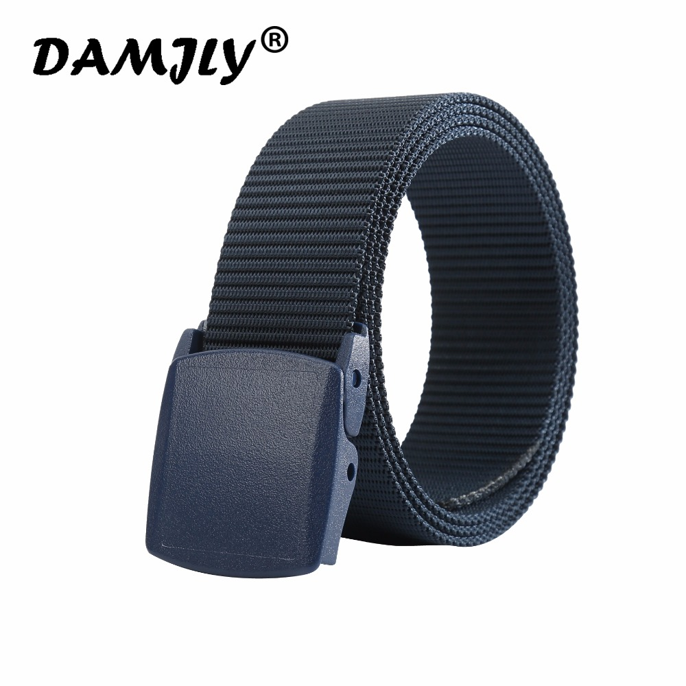 Automatic Buckle Nylon Belt for Men Army Tactical Belt High Quality Military Tactical Belt Mens Luxury Brand Jeans Belts for Men