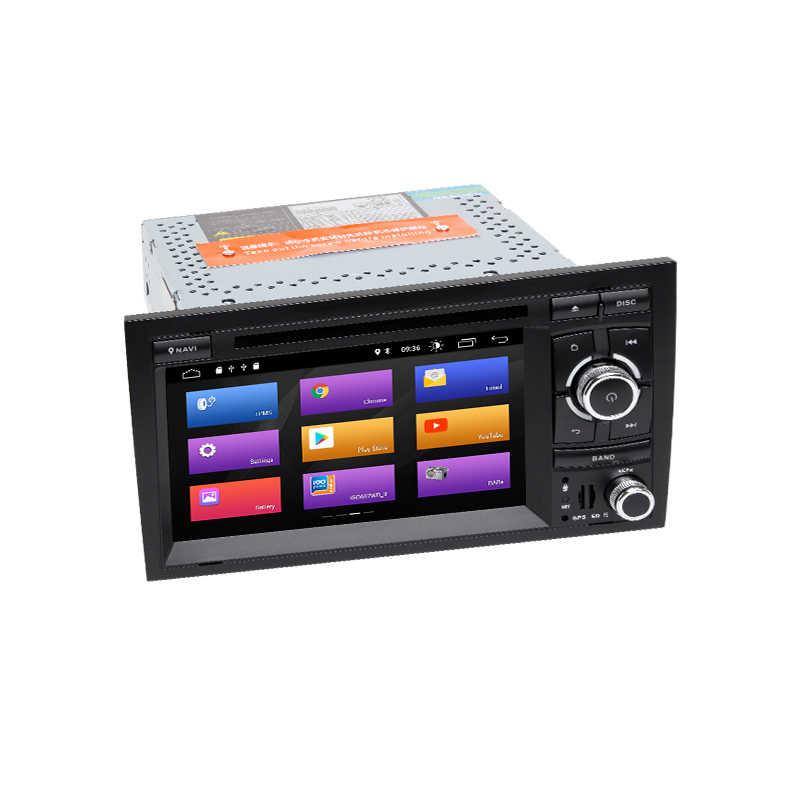 クアッドコア 2 Din アンドロイド 9.0 Autoradio カーマルチメディアプレーヤーアウディ A4 B6 B7 シート Exeo S4 B7 B6 RS4 B7 ナビゲーション GPS DVD2 + 32 ギガバイト