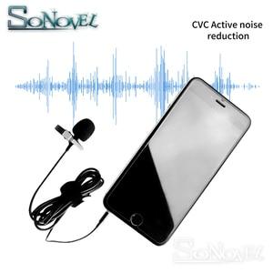 Image 5 - YC LM10 전화 오디오 비디오 녹화 lavalier 콘덴서 마이크 아이폰 8 7 6 5 4 s 4 ipad 화웨이 sumsang htc as BY LM10