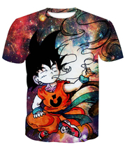 420 Dank Kid Goku Graphic T-Shirt