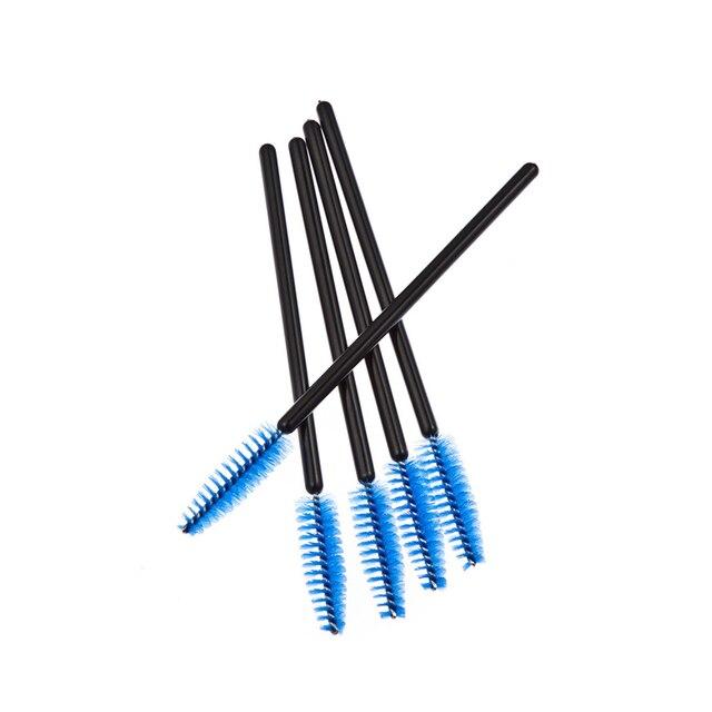 QSTY 50Pcs Eyelash Brushes Makeup Brushes Disposable Mascara Wands Applicator Spoolers Eye Lashes Cosmetic Brush Makeup Tools 5