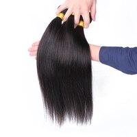 Peruvian Straight Human Hair Weave Bundles Natural Black Color 3 Pcs 100% Human Hair Extension Remy Hair CARA Hair Products