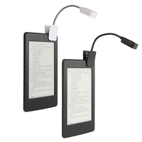For Kindle For Notebook Reading Light LED Book Light Table Lamp Desk Lamp Mini Flexible Clip