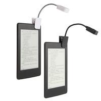 For Kindle For Notebook Reading Light LED Book Light Table Lamp Desk Lamp Mini Flexible Clip