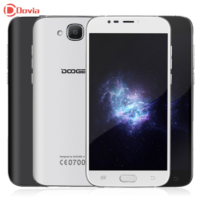 DOOGEE X9 Mini Android 6.0 5.5 inch 3G Telephone MTK6580 Quad Core 1GB RAM 16GB ROM GPS 5MP Cameras 2000mAh DTouch Mobile Phone
