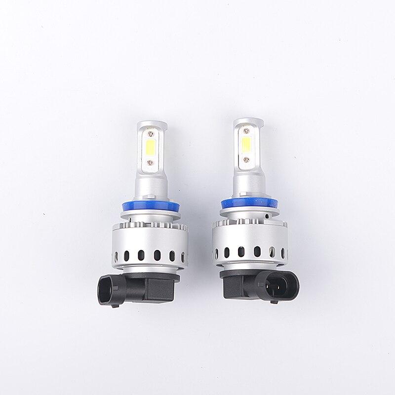 12V LED Bulb Car Headlight Conversion Kit H4 H7 LED H11 9005 9006 50W 6000Lm 6000K White Fog Light COB Chip Replace Xenon Bulb 2017 upgrade h4 led car headlight bulb kit 50w 6000lm 12v plug