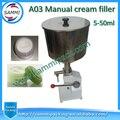 Top qualität Manuelle Creme Paste Füllstoff (5 ~ 50 ml) für verkauf + neu kommt + food grade edelstahl + kostenloser versand-in Vakuum-Lebensmittelversiegeler aus Haushaltsgeräte bei