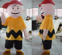 New charlie brown mascot costume fancy dress animal characters party costumes animal costume