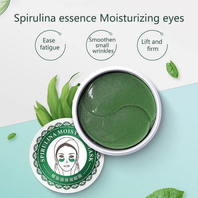 Crystal Collagen Eye Mask Moisturizing Anti Aging Gel Eye Pads Remove Dark Circles Eye Sleep Mask