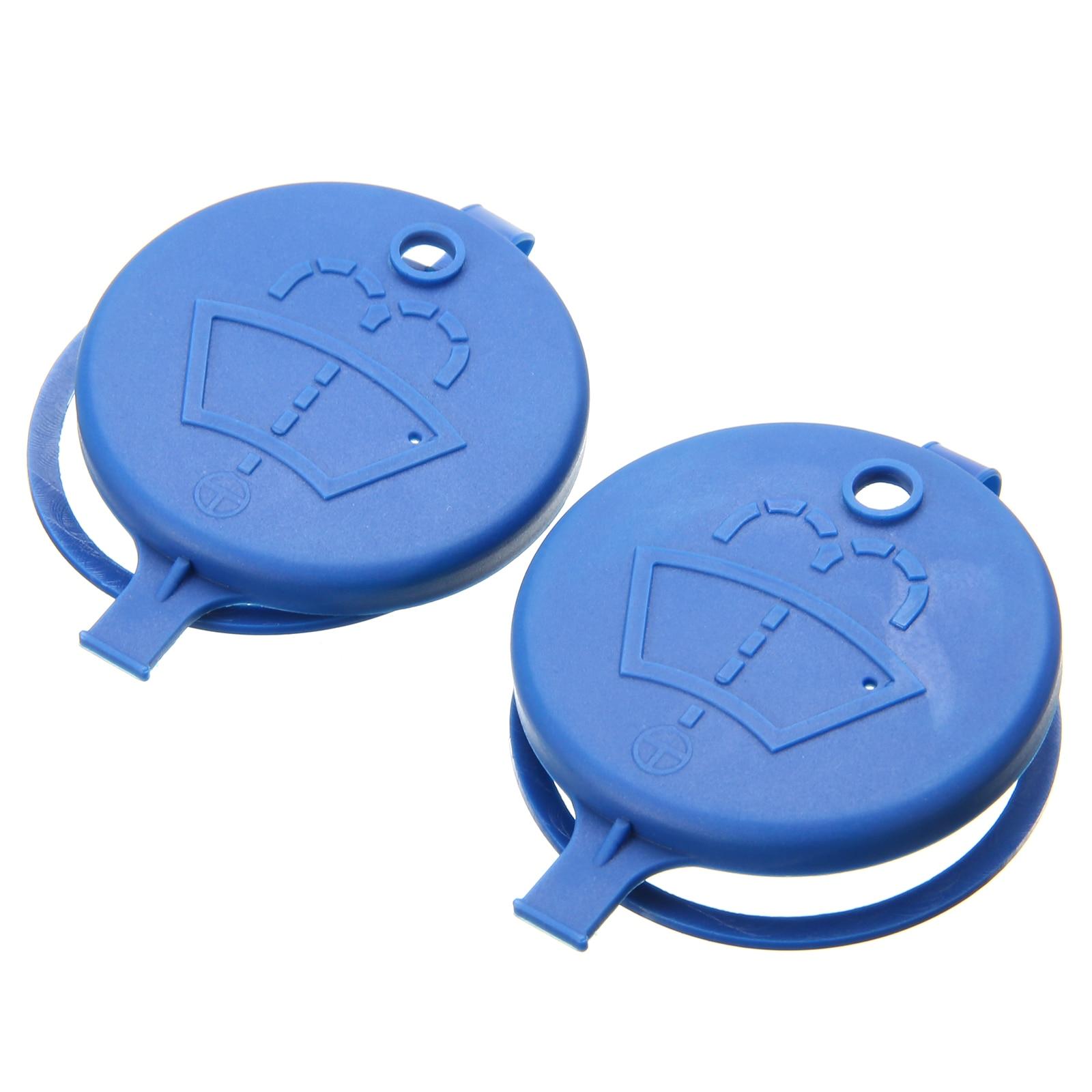 2x Car Fluid Reservoir Tank Bottle Cap For Peugeot 106 206 207 307 Citroen C2/C-Elysee/Xsara/Picasso Windshield Wiper Washer