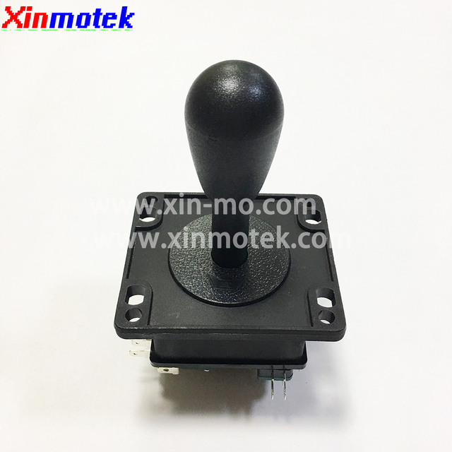2 pcs of American Style Bat Top Joystick with 4 microswitch  /HAPP Push Button / Arcade  game machine accessories