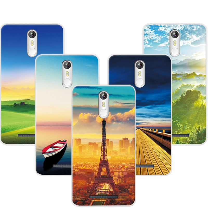 Exotic Case For Leagoo M8 Case Cover Soft Silicone Painting Cover For Case Leagoo M8 Pro 5.7 Inch Shell Capa