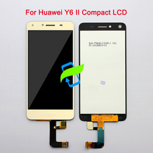 цена на 5 For Huawei Y6 II Compact Honor 5A LYO-L01 LYO-L21 LCD Display Touch Screen Digitizer Assembly Replacement For HUAWEI Y6 ii