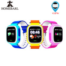 GPS Smart Watch Baby Batch Q90 With Wifi Touch Screen SOS Call Location Device Tracker For Kid Safe Anti-Lost Monitor PK Q80 Q60(China)