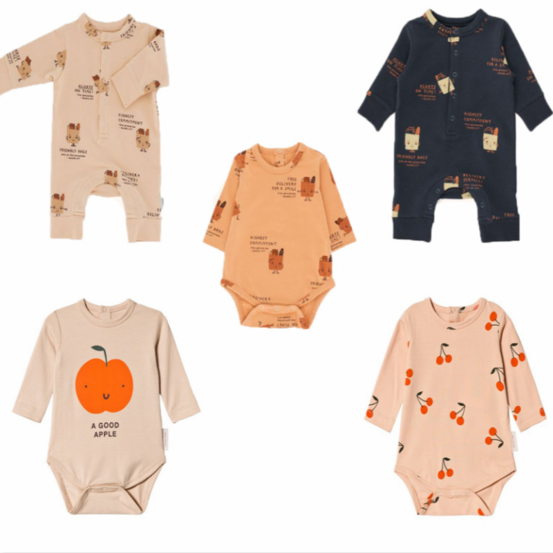 baby romper 2018 autumn winter tiny cottons boys girls newborn print jumpsuit infant cotton new fashion baby boy clothes romper
