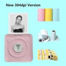 GOOJPRT New! 304dpi Peripage Mini Photo Bluetooth Pocket Photo Printer Imprimante for Mobile Phone Android iOS Kids Ladies Gifts