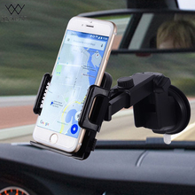 XMXCZKJ Car Mobile Phone Holder Universal Windshield Dashboard Stand 360 Rotation Suction Cup Mount Holder For Smartphones GPS