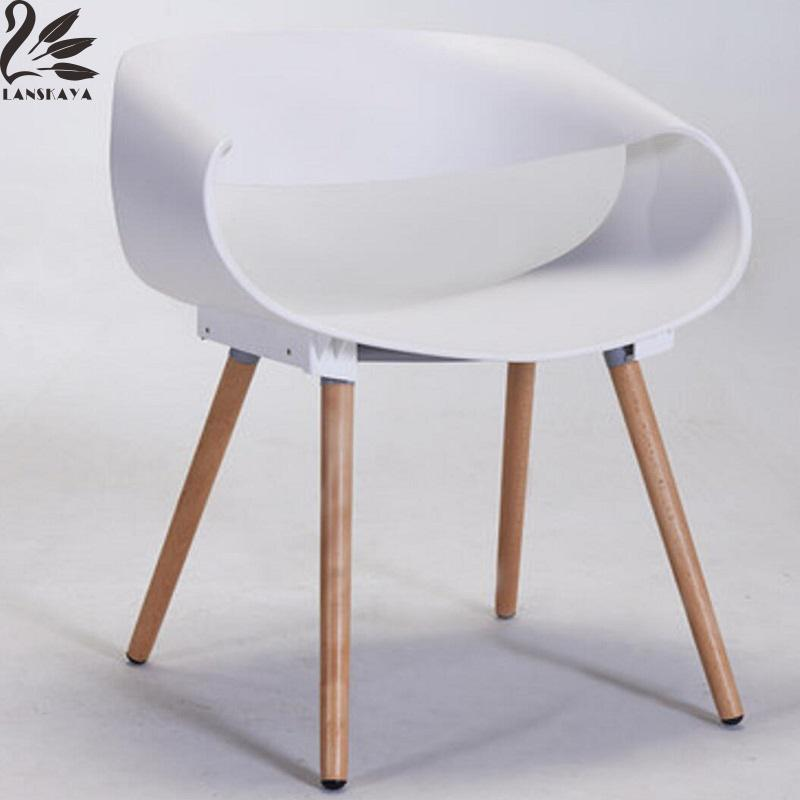 2017 Sillones Sedie Pieces Of Set Plastic Chair Furniture Simple Fashion Leisure Negotiate Dining Room Chairs Wood Contemporary wood plastic chair simple casual fashion office modern restaurant contemporary dining chairs