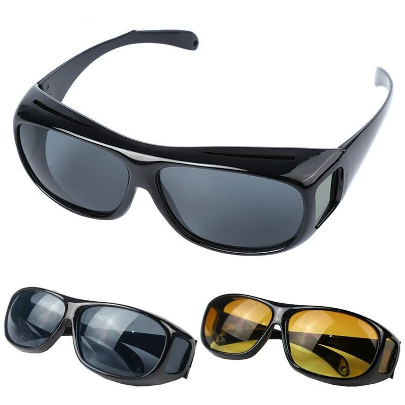 Classic Hd Night Vision Anti-reflective Goggles Glasses Uv400 Driving Sunglasses Men Goggles Eyewear Sunglasses Cycling Glasses