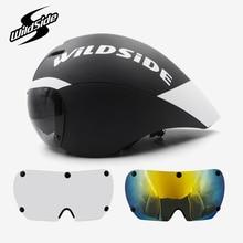 Race tt cycling helmet lens goggles Tria
