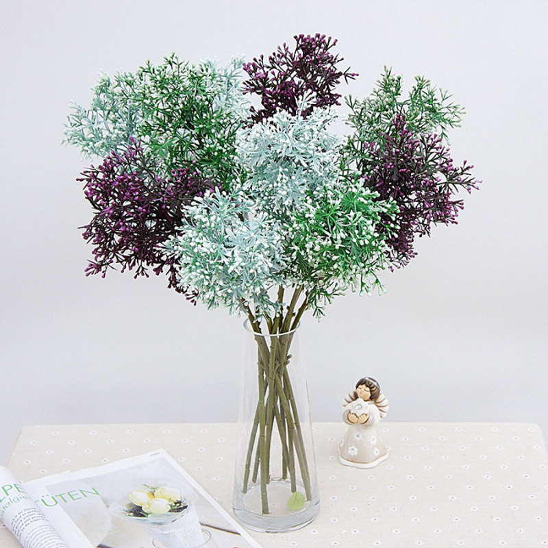 decoracin de figuras miniaturas simulacin artificial modelo de flores de plstico diy arreglo de apio
