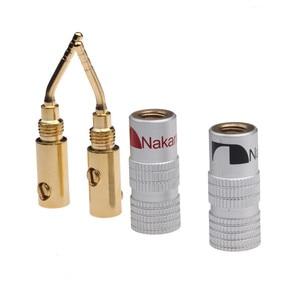 Image 3 - Conectores Banana 20 piezas de 2mm para altavoz, conector de Cable chapado en oro para Audio, Kit de adaptador de altavoz Musical HiFi