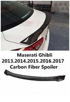 Carbon Fiber Spoiler For Maserati Ghibli 2013.2014.2015.2016.2017 High Quality Wing Spoilers Trunk Lid Diffuser Modification