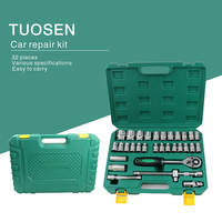 tools box wrench auto kits car repair tool set mechanic hand kit socket professional with ratchet auto kits herramientas screwdr