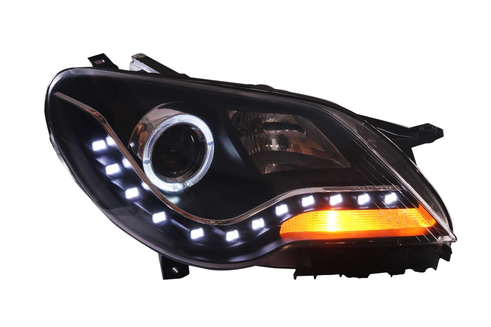 Free shipping vland factory headlamp for VW BORA 2008 2011 LED headlamp angel eyes and plug and play design free shipping vland factory car parts for camry led taillight 2006 2007 2008 2011 plug and play car led taill lights