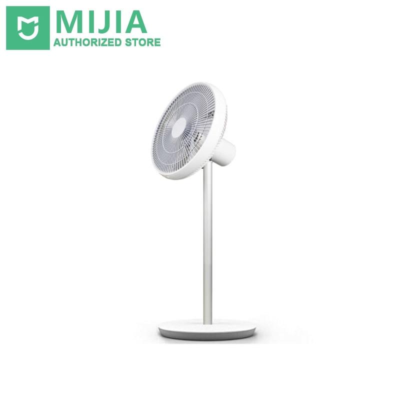 где купить Original Xiaomi Smart DC Frequency Stand Fan WiFi Phone APP Remote Control Built In 2800mAh Battery Comfortable Wind дешево