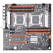 PCI-E 3.0 with dual Xeon processor motherboard