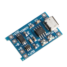 Micro 5V 1A USB 18650 Lithium Battery Charging Board Module+Protection – L060 New hot