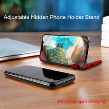 Dual USB Power Bank 8000mAh QI Wireless Charger For iPhone Samsung