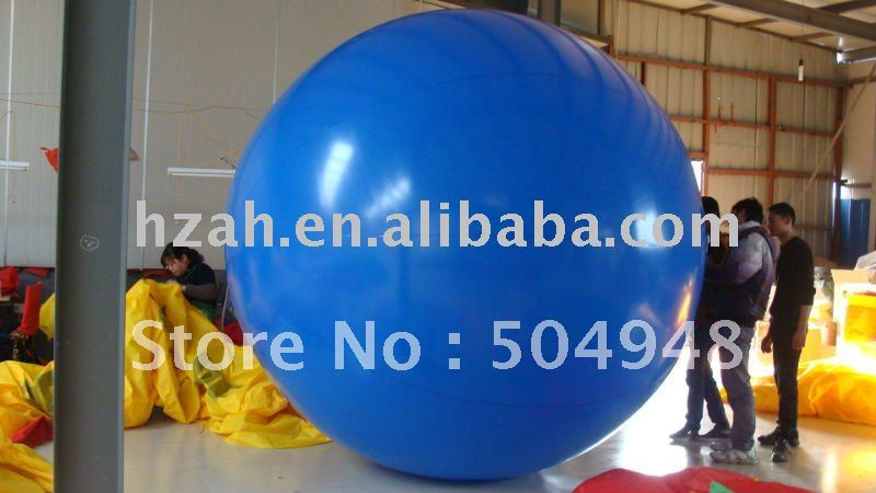 inflatable Helium Balloon ao058b 2m white pvc helium balioon inflatable sphere sky balloon for sale attractive inflatable funny helium printing air ball