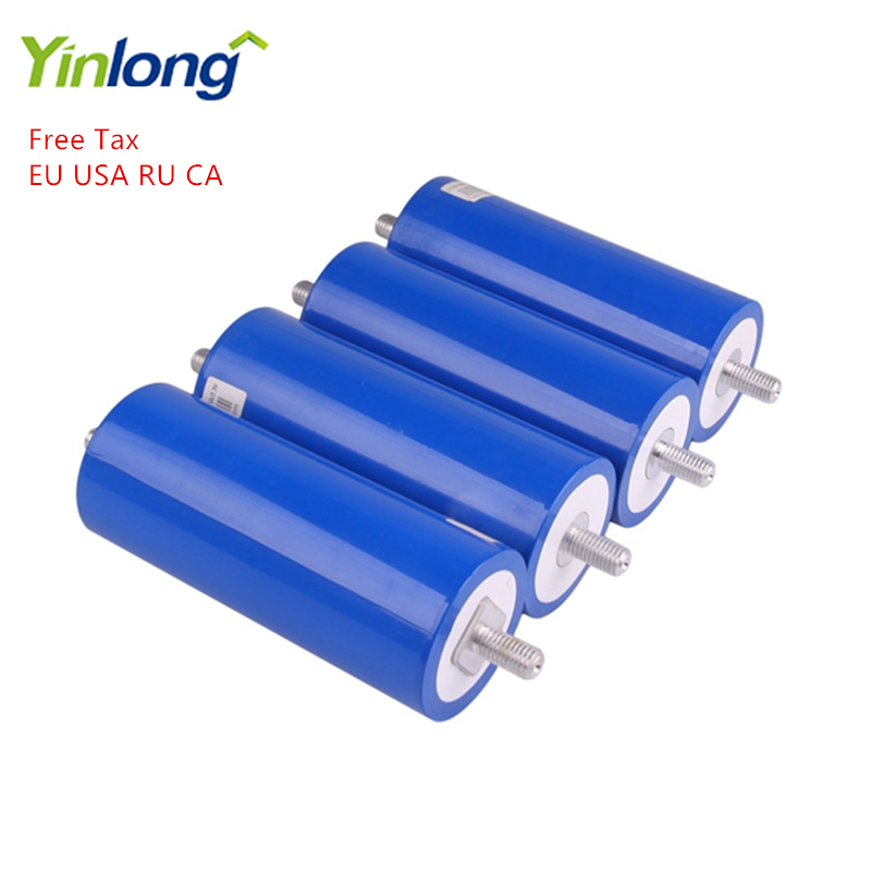 Rechargeable LTO <font><b>66160</b></font> 2.3V 40Ah Cylindrical Lithium Titanium LTO66160H Oxide Battery 4PCS For Electric Vehicle Charging Station image