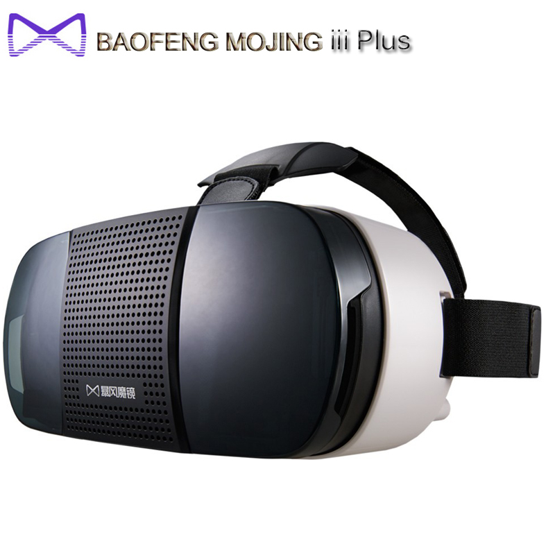 Original BaoFeng MoJing iii Plus 3D VR Glasses Virtual Reality Goggles Immersive 4.7 - 6.0 inch For Iphone 6 6s Plus Smartphones